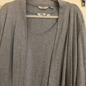 Liz Claiborne 2 piece tank top & Jacket